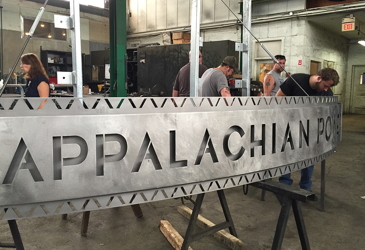 Appalachian Power AEP awning