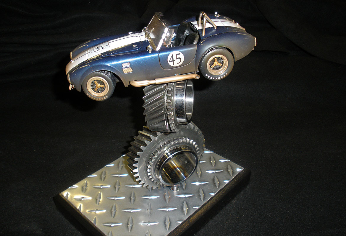 Curtis Elliott Designs race car award design