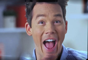 David Bromstad coffeemate tv ad